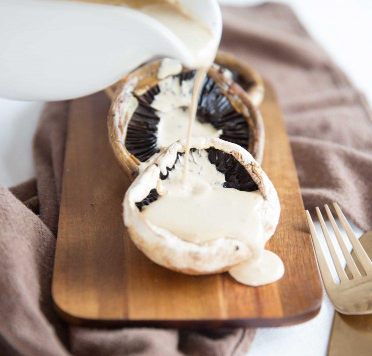 Creamy Peppercorn Sauce Mushroom