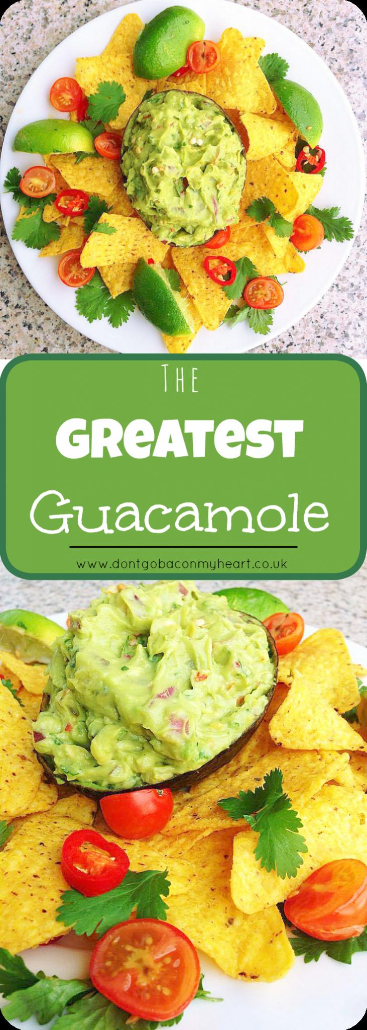 The Greatest Guacamole Recipe