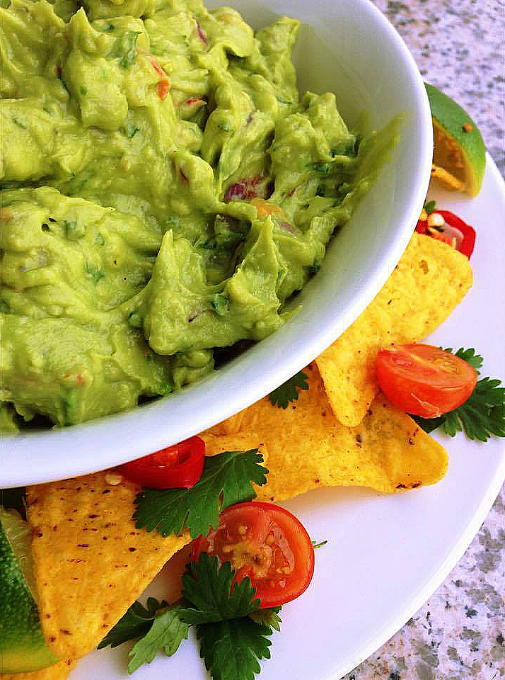 The Greatest Guacamole Recipe - closeup