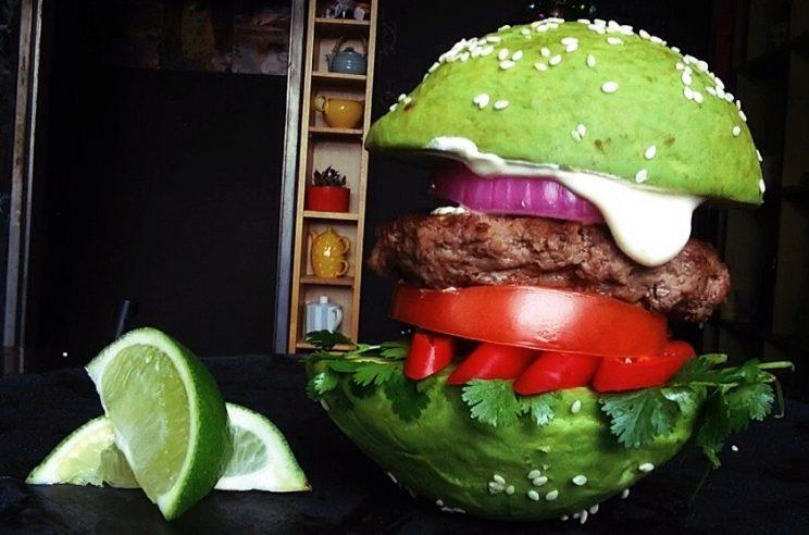 avocado burger bun