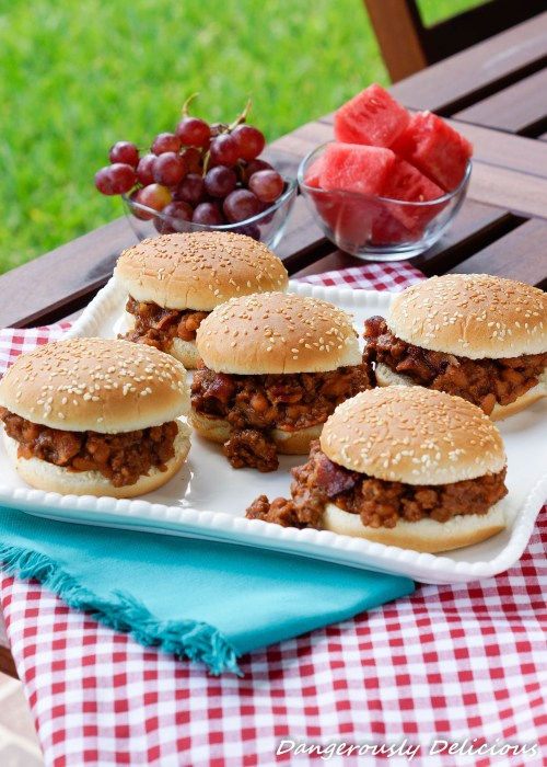 Beef Baked Bean Sloppy Joes