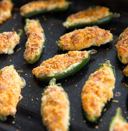 Crispy Baked Jalapeño Poppers Fresh Out The Oven