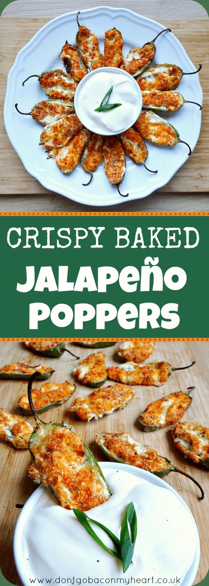 Crispy Baked Jalapeno Poppers