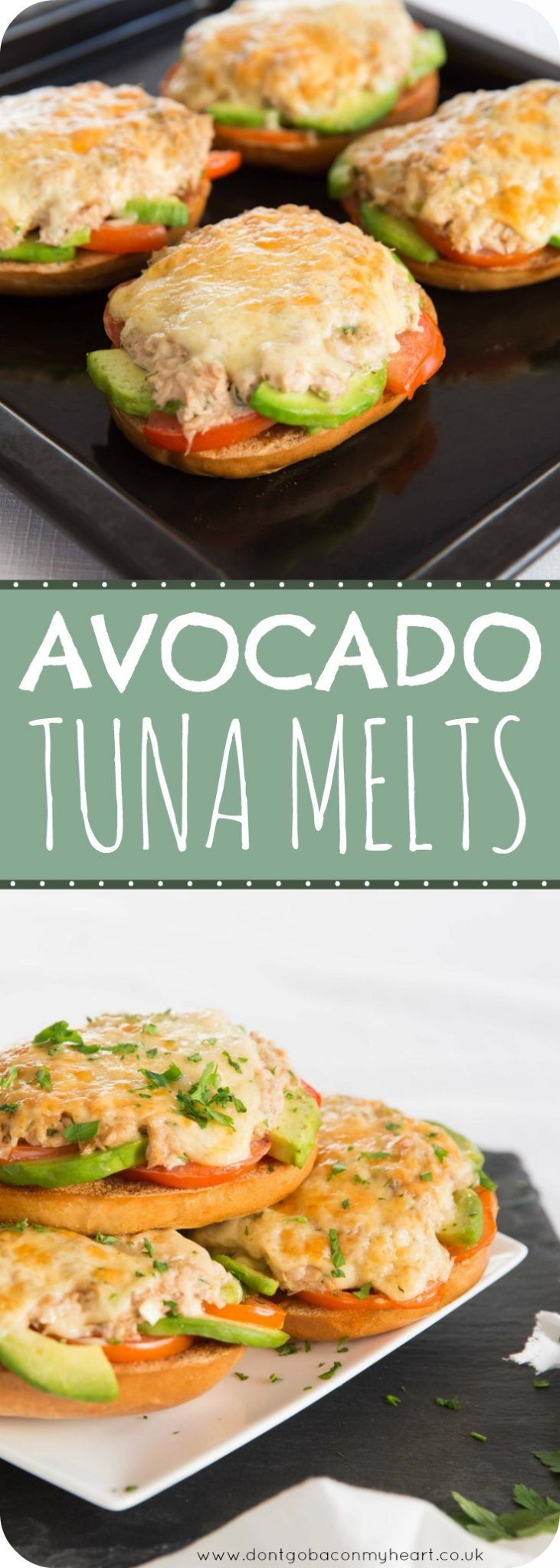 Avocado Tuna Melt Pin