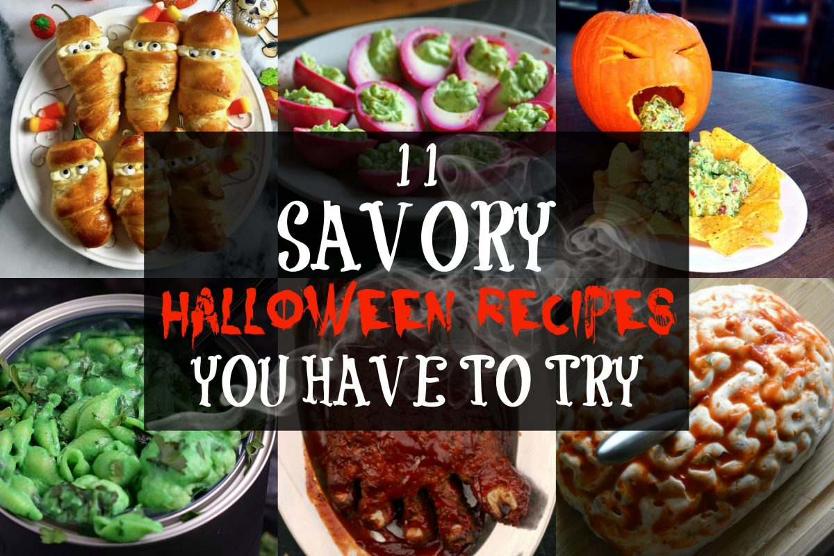 11 savory halloween recipes you have to try | don't go bacon my heart