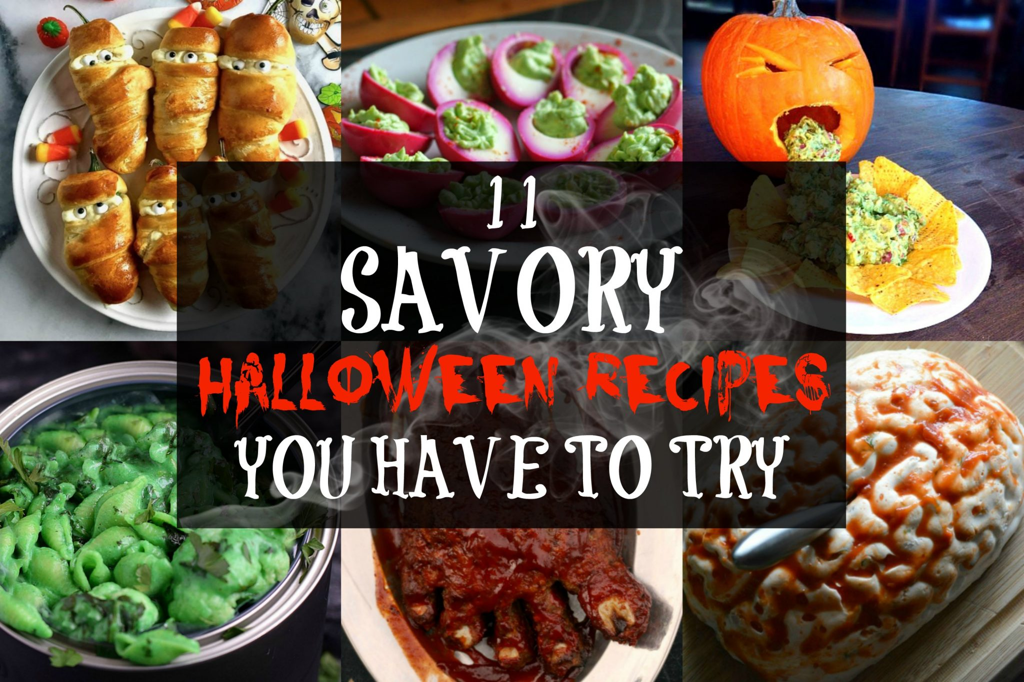 11 Savory Halloween Recipes You Have To Try Don T Go Bacon My Heart