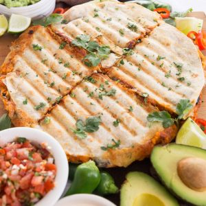 Roasted Sweet Potato and Black Bean Quesadillas Recipe