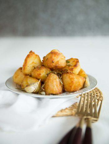 Goose Fat Roast Potatoes - final serving