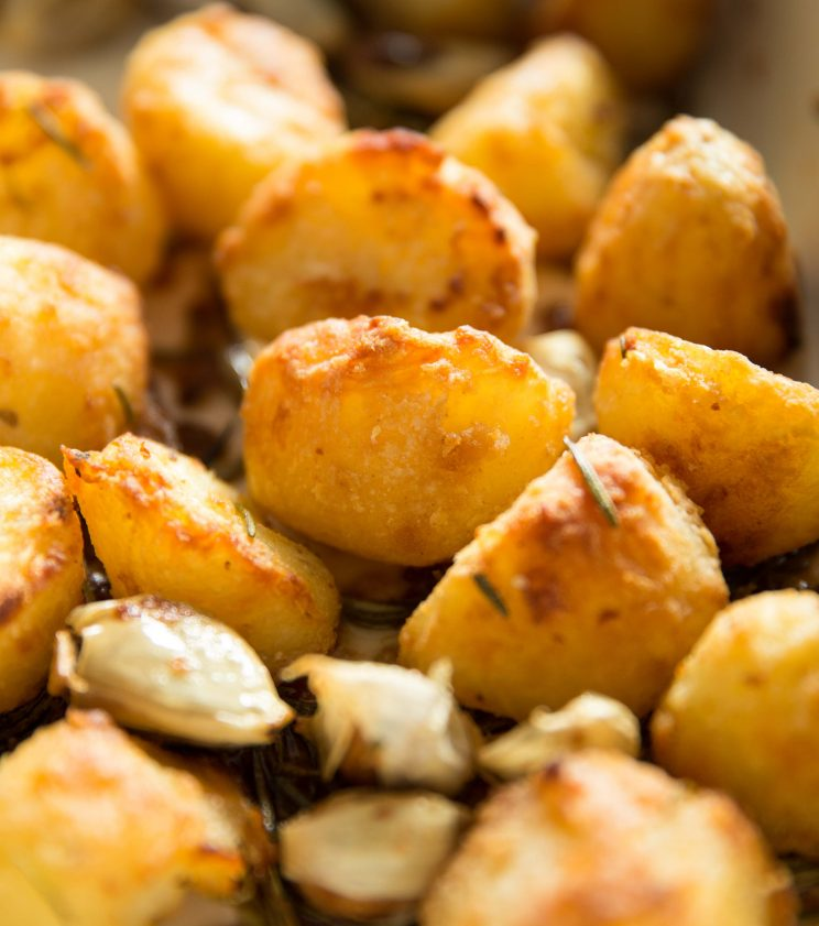 Goose Fat Roast Potatoes - fresh out the oven
