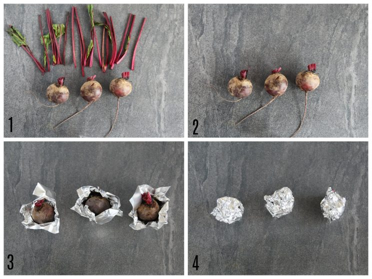 How to roast beetroot - 4 step by step photos