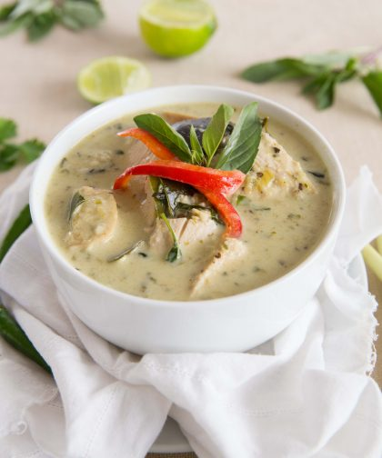Leftover Turkey Thai Green Curry