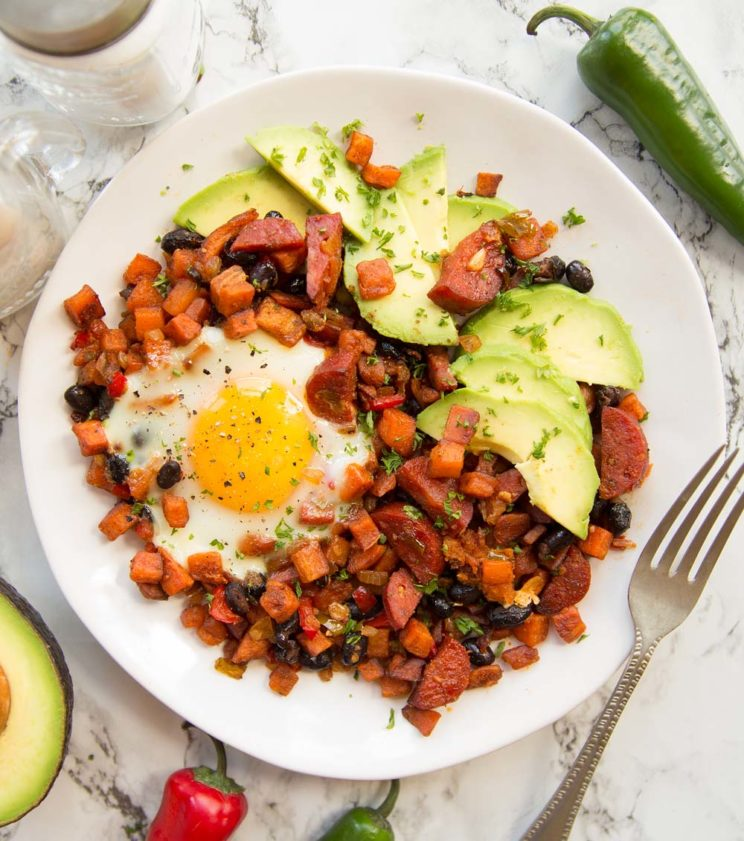 Savory Breakfast Ideas - Sweet Potato Breakfast Skillet