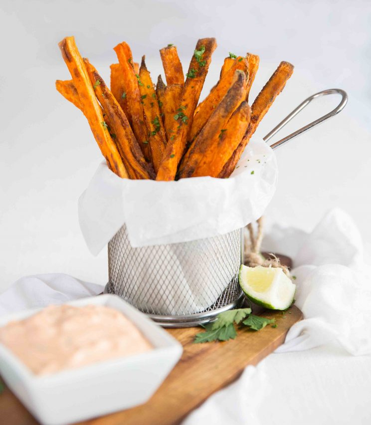 Crispy Oven Baked Sweet Potato Fries