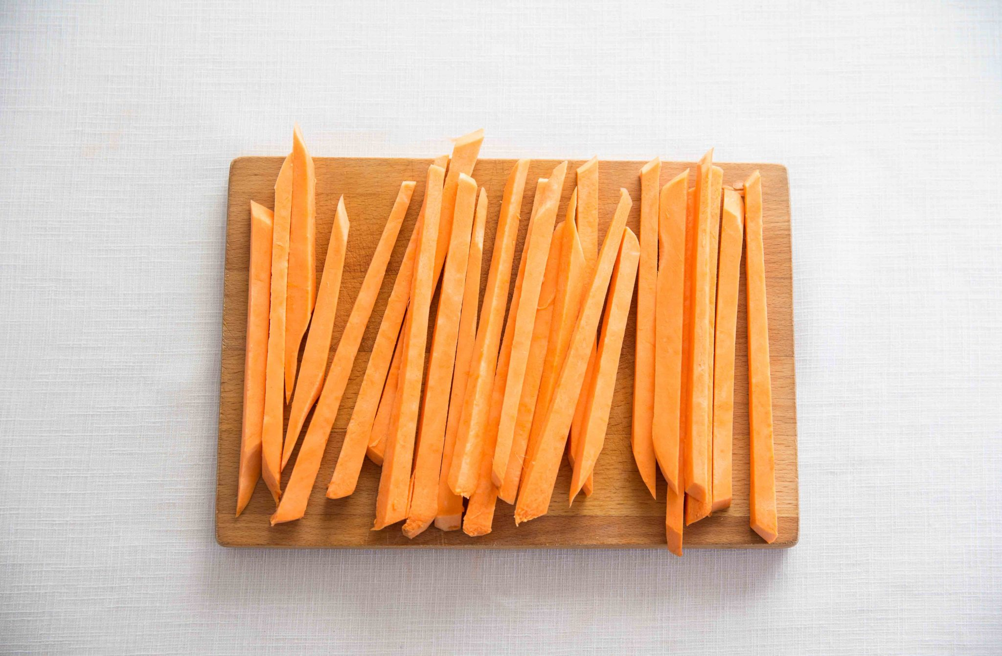 how to cook sweet potato fries in oven uk