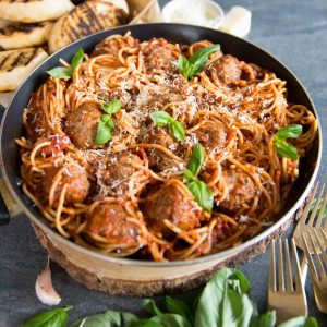 Spaghetti and Melt in your mouth Meatballs - Foolproof recipe