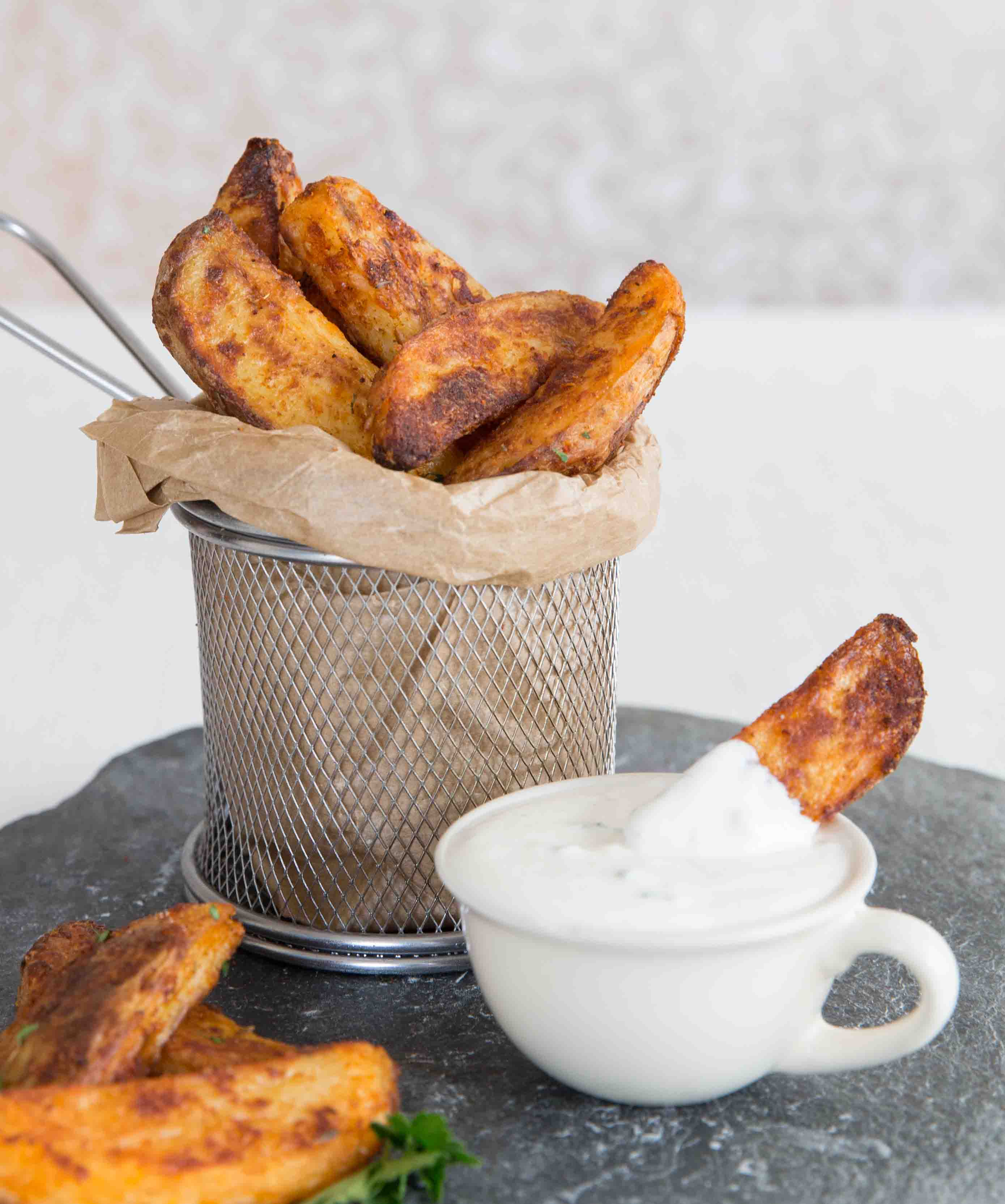 Incredible Oven Baked Potato Wedges Dont Go Bacon My Heart