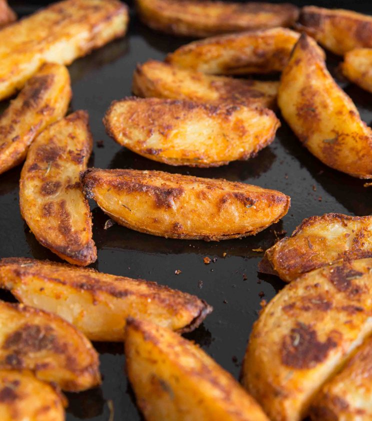 Oven Baked Potato Wedges Fresh out the oven
