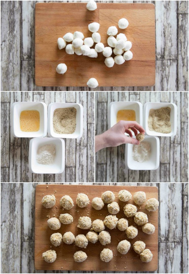 How to make Fried Cheese Balls - 4 step by step photos
