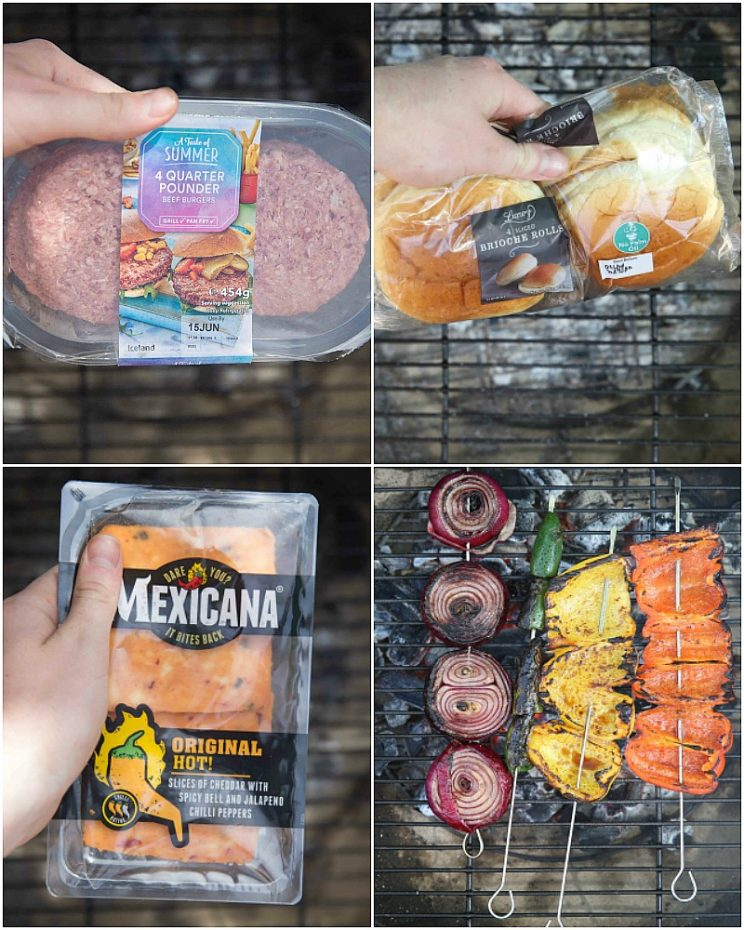 Mexican Cheeseburger ingredients