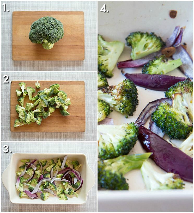 How to roast Broccoli step by step