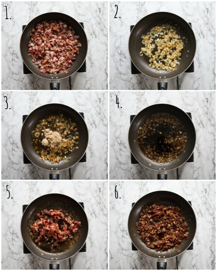 How to make Bacon Jam - step by step