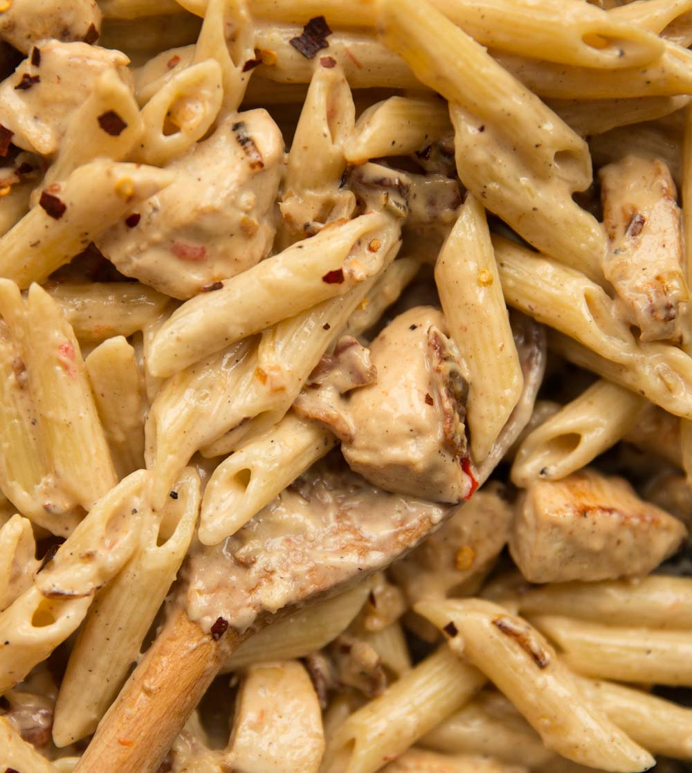 Leftover Chicken And Bacon Pasta Don T Go Bacon My Heart