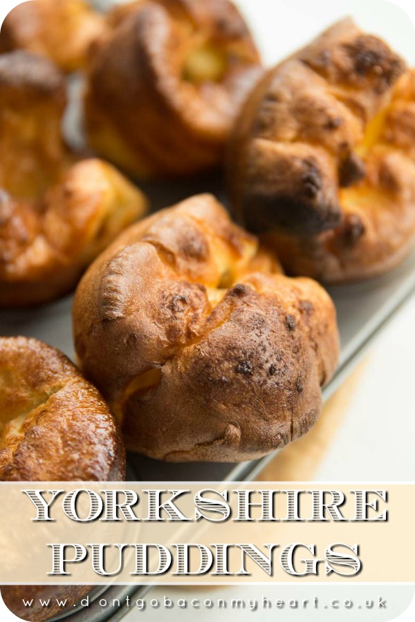 Yorkshire Puddings are an absolute roast dinner staple & thankfully they couldn't be easier to make. Follow these foolproof tips for perfect Yorkshire Puddings! #yorkshirepuddings #britishfood #roastdinner | www.dontgobaconmyheart.co.uk