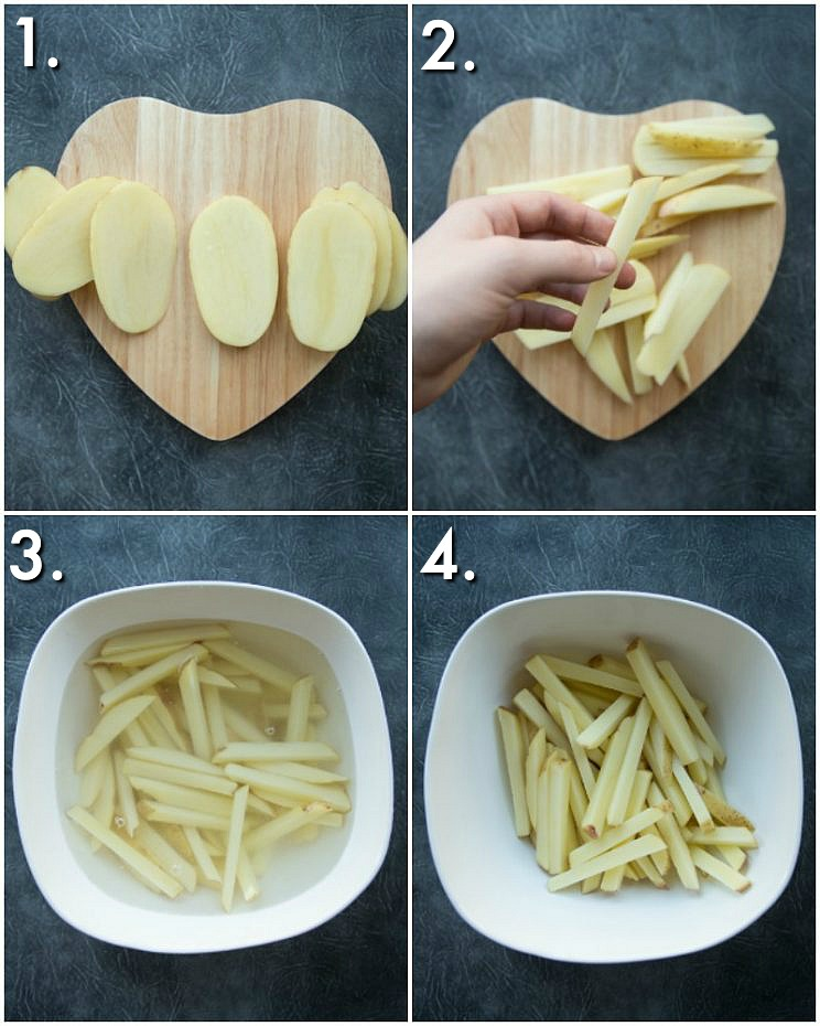 How to prepare Home fries - 4 step by step photos