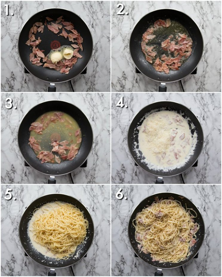 How to make Cream Cheese Pasta - 6 step by step photos