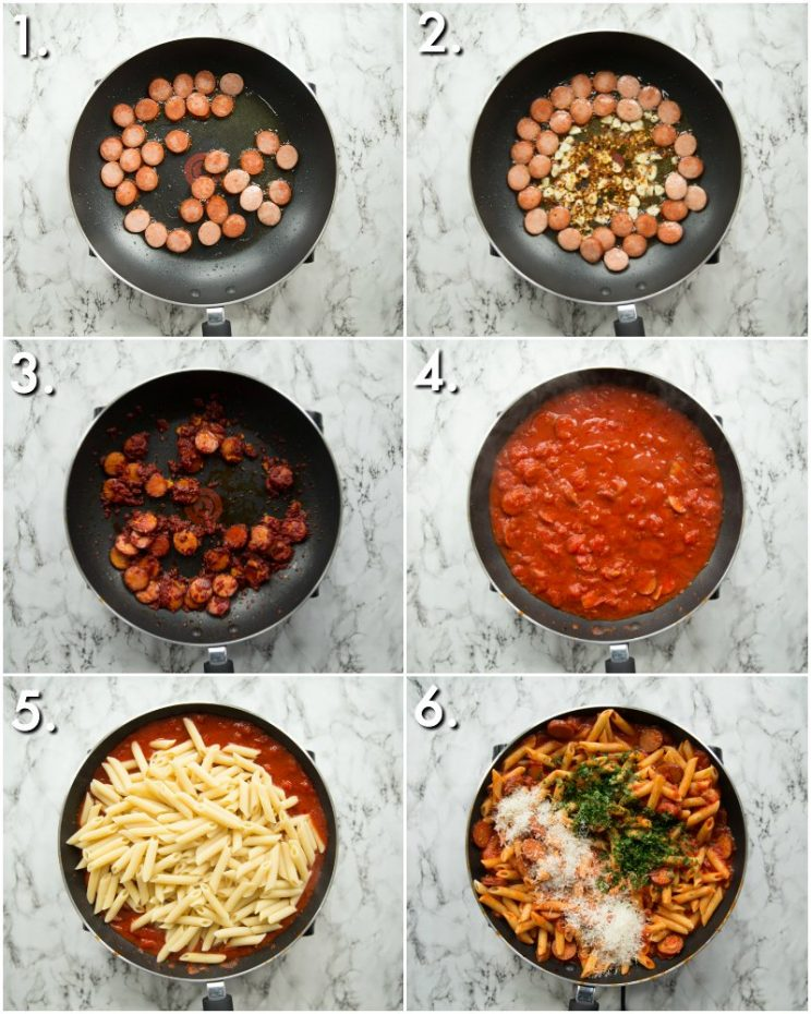 How to make Penne Arrabiata - 6 step by step photos