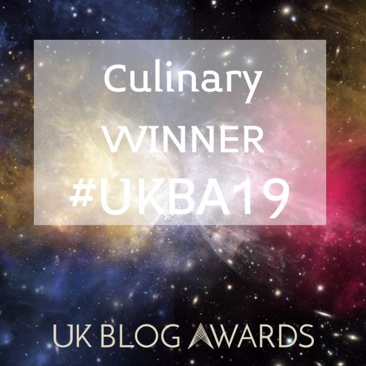 culinary winner uk blog awards
