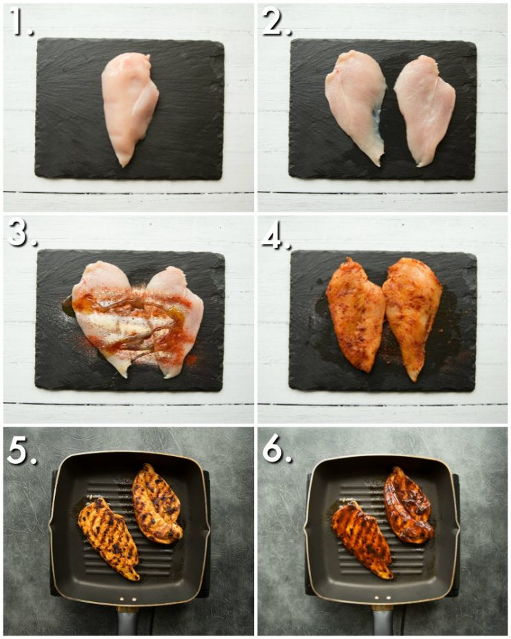 how to make bbq chicken on the stove - 6 step by step photos
