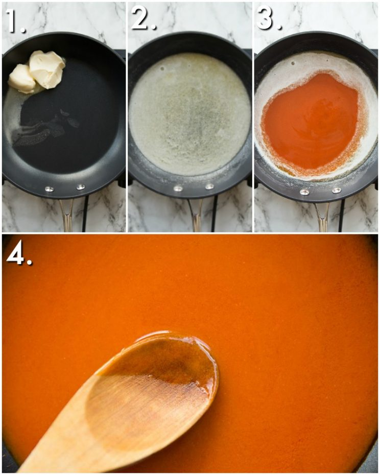 How to make Buffalo Sauce - 4 step by step photos