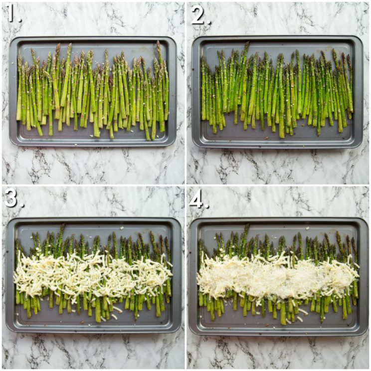 How to make Cheesy Asparagus - 4 step by step photos