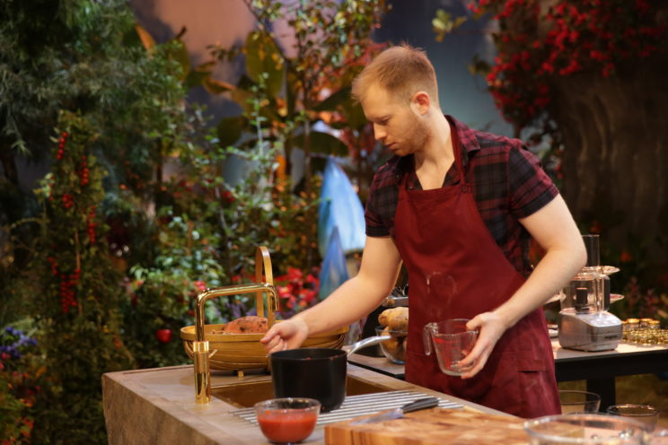photo of chris, a contest from tv show Crazy Delicious