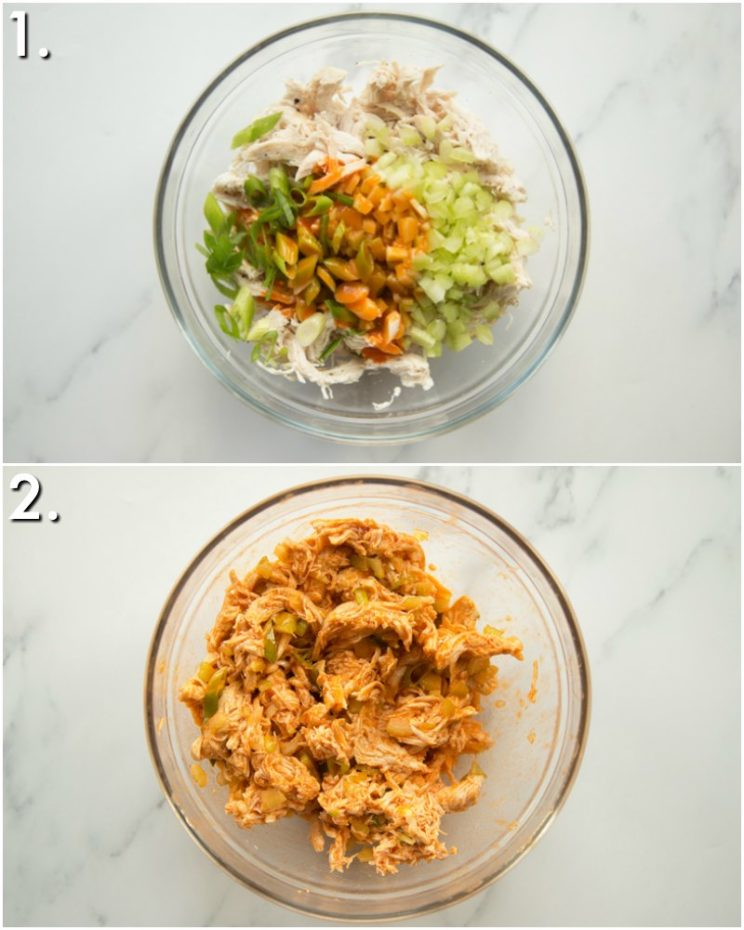 How to make Buffalo Chicken - 2 step by step photos
