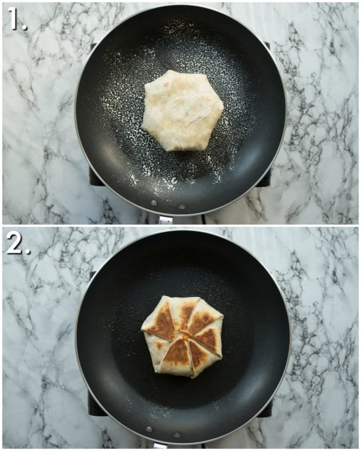 How to cook Crunchwraps - 2 step by step photos