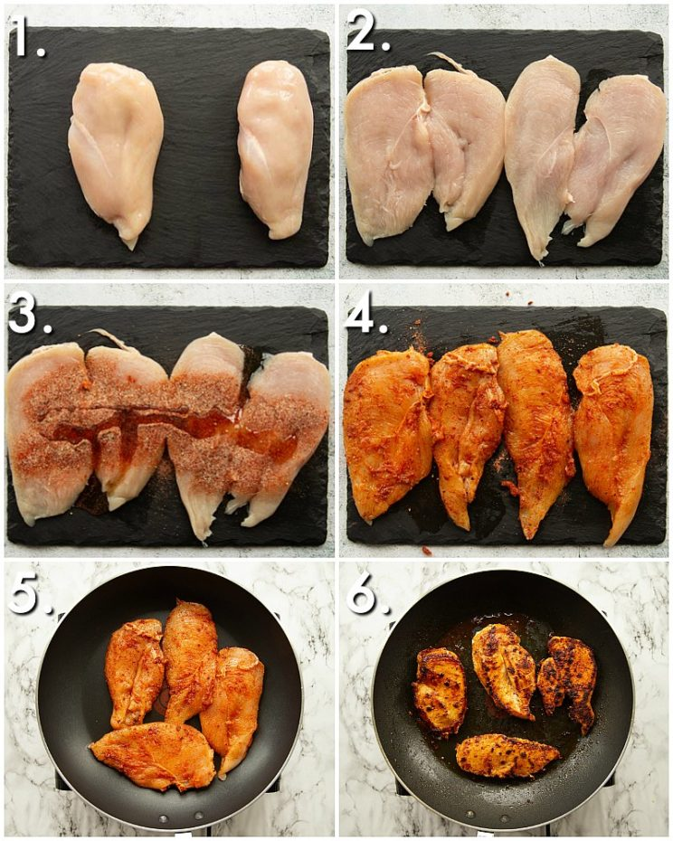 How to make BBQ Chicken - 6 step by step photos