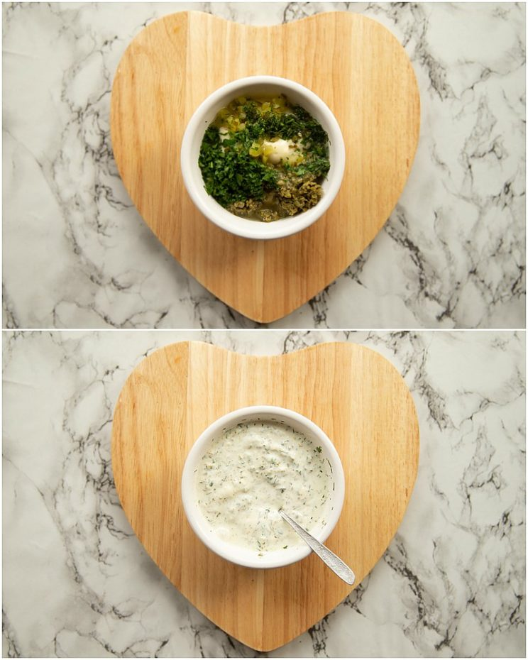 How to make Tartare Sauce - 2 step by step photos