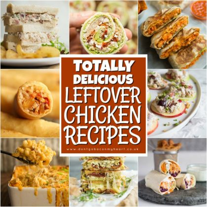 Leftover Chicken Recipes Square Thumbnail