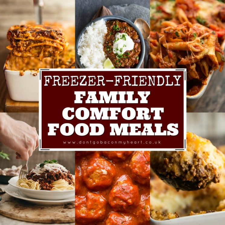 Family Comfort Food Meals
