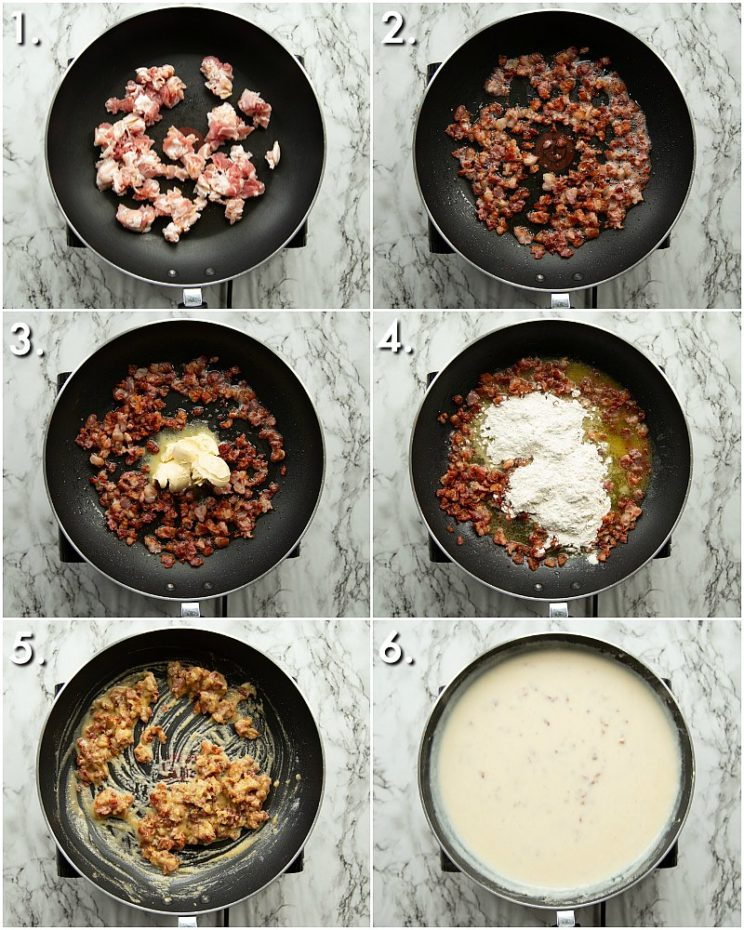 How to make chipotle mac and cheese - 6 step by step photos
