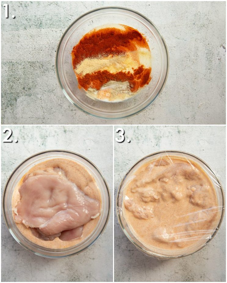 How to marinate chicken - 3 step by step photos