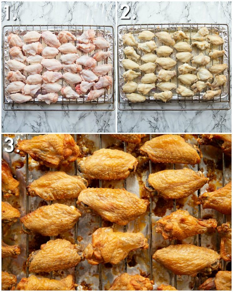 How to bake chicken wings - 3 step by step photos