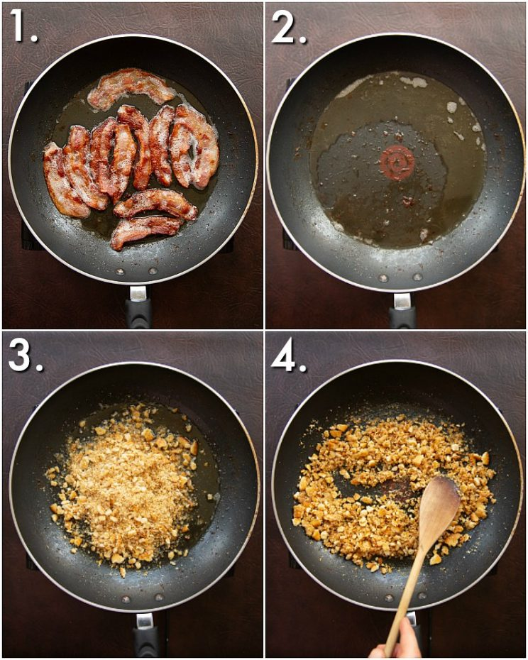 How to make Ritz breadcrumbs - 4 step by step photos