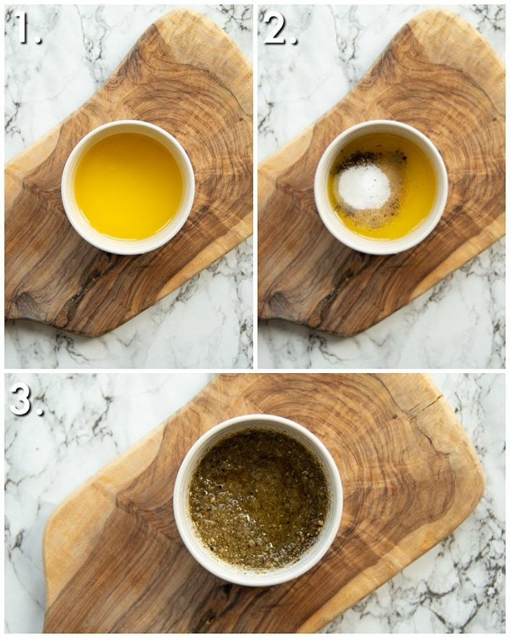 How to make sage and onion butter - 3 step by step photos
