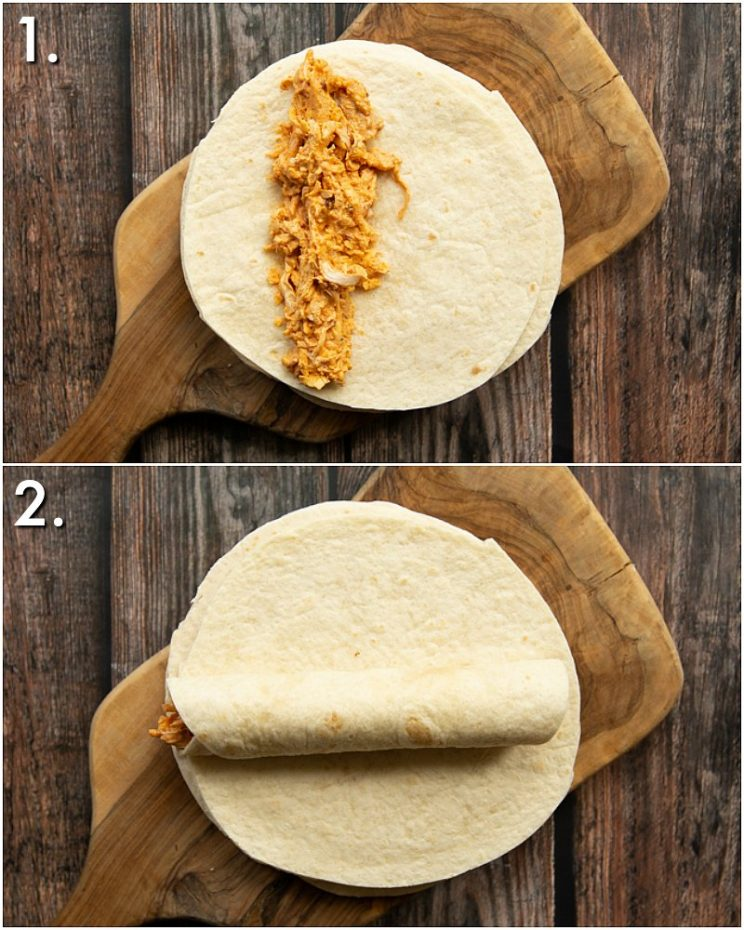 How to make taquitos - 2 step by step photos